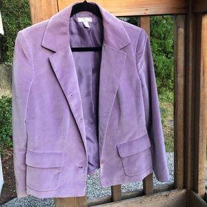 Nordstrom Jackets & Coats - Lilac lined Blazer Jacket Nordstrom Size 10P